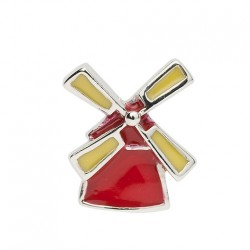 BIBA BEAD WINDMILL RED / YELLOW