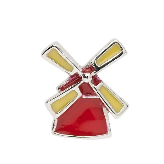 Biba bead windmill red / yellow