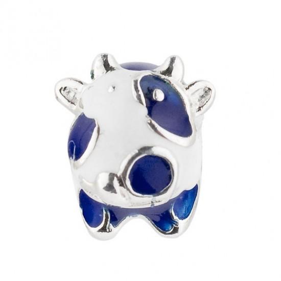 Biba bead cow blue jh-062