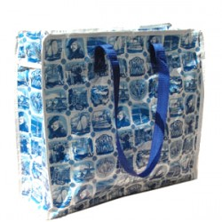 BIG SHOPPER DELFT BLUE