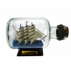 BOAT IN BOTTLE STAD AMSTERDAM