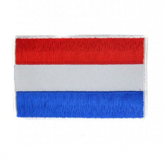 PATCH BADGE HOLLAND FLAG NETHERLANDS