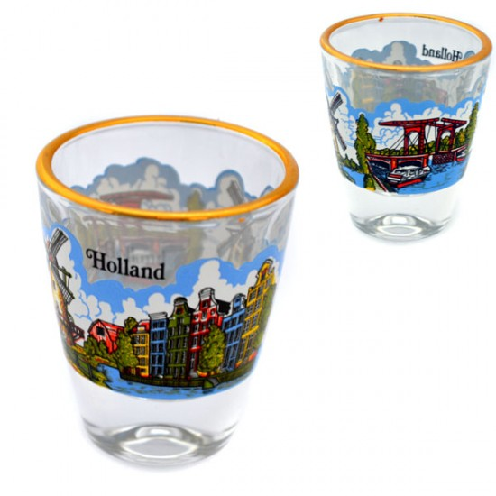 GIN GLAS HOLLAND 5 CM 3.5 CL