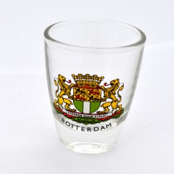 SHOT GLASS ROTTERDAM CITY LOGO