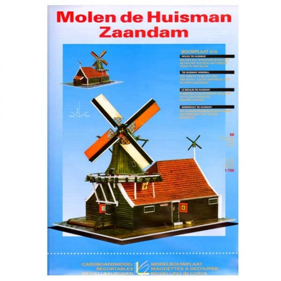 CONSTRUCTION BOARD WINDMILL HUISMAN ZAANDAM