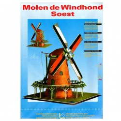 CONSTRUCTION BOARD WINDMILL WINDHOND SOEST