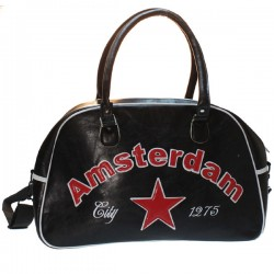 SPORTS BAG AMSTERDAM NETHERLANDS MODEL BOWLING BLACK