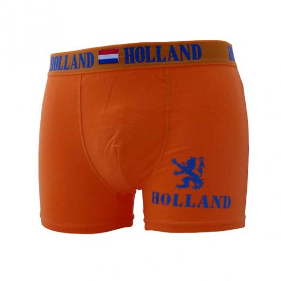 BOXER HOLLAND ORANGE BLAU LÖWE