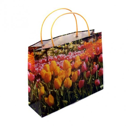 GIFT BAG / MINI SHOPPER TULIPS