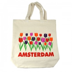CANVAS BAG TULIPS AMSTERDAM COLOR