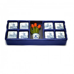 CHOCOLATE TRAVEL BOX TULIPS