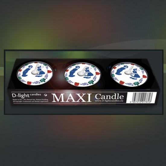 D-light tea lights maxi with Boerenbont