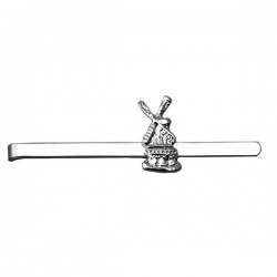 TIE CLIP SILVER PLATED WINDMILL 7 CM