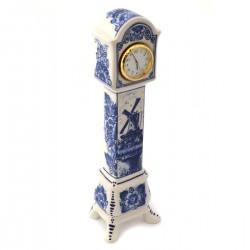 DELFT BLUE CLOCK LANDSCAPE STANDING TALL