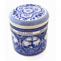 DELFT BLUE JAR HOLLAND WINDMILLS