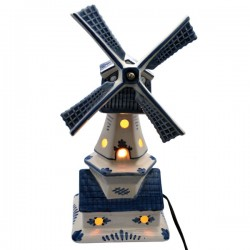 DELFT BLUE WINDMILL with MUSIC and LIGHT