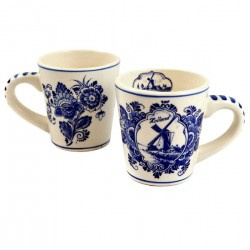 ESPRESSO CUP DELFT BLUE WINDMILL HOLLAND