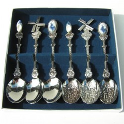 CASE TEASPOONS COMBI 6 pc.