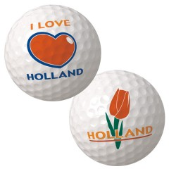 GOLF BALLS HOLLAND