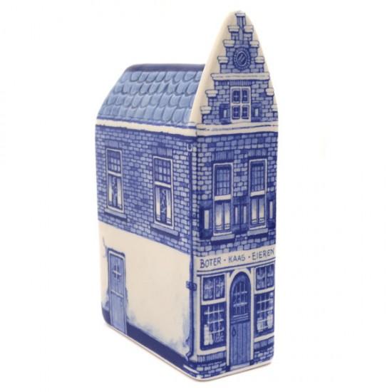 Grachtenhuisje delfts blauw kaaswinkel