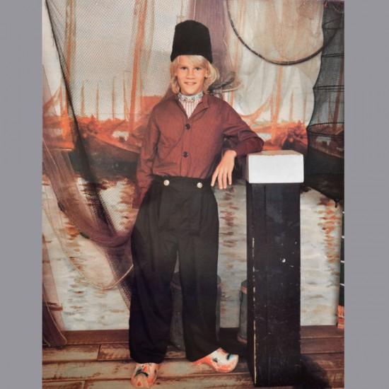 Holland kostüm jungen volendam