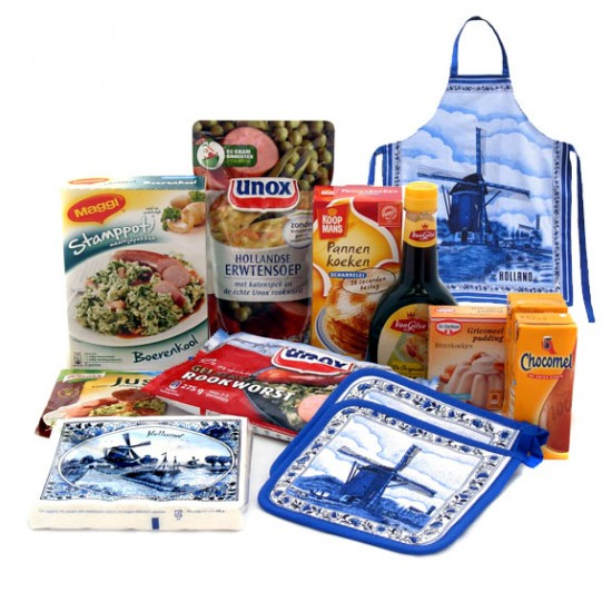HOLLAND GIFT PACKAGE - DUTCH CHEF