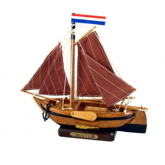 Dutch fishing boat botter 16 cm