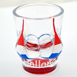 SHOT GLASS BIKINI DUTCH FLAG