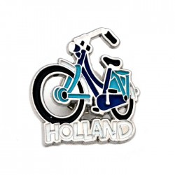 PIN BROOCH HOLLAND BICYCLE COLOR