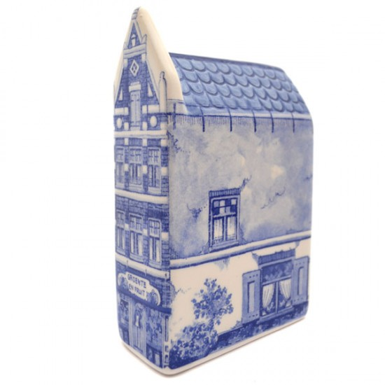 CANAL HOUSE DELFT BLUE GROCERY STORE