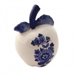 APPLE DELFT BLUE WINDMILL FLOWERS