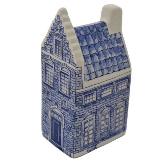 SET LUXE DELFT BLUE CANAL HOUSES