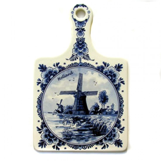 CHEESE BOARD DELFT BLUE HOLLAND