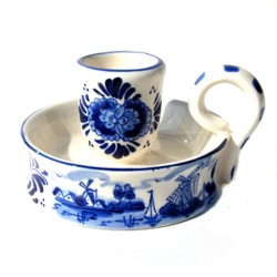 CANDLE HOLDER BLAKER DELFT BLUE