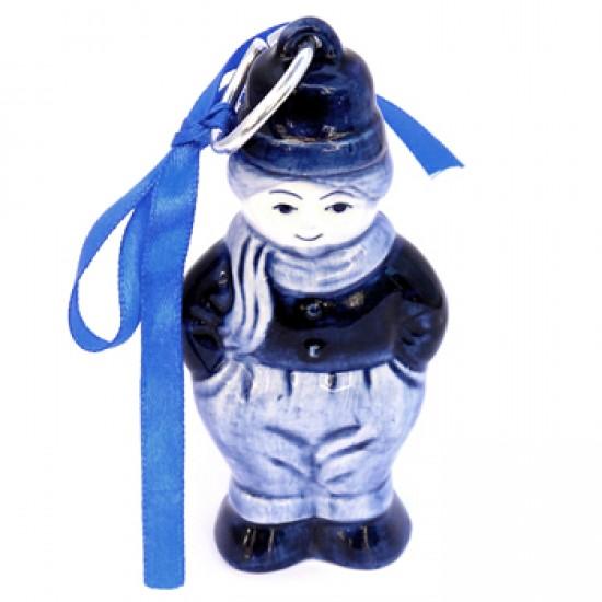 Weihnachtsdekoration bauer delfter blau 10 cm
