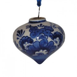 CHRISTMAS BALL POINT DELFT BLUE