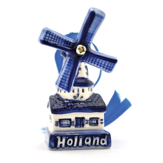 Christmas decoration windmill stand Holland