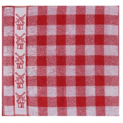 KITCHEN TOWEL DDDDD RED MILL 50 x 55 CM