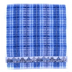 KITCHEN TOWEL CANAL HOUSES BLUE 49 x 50 CM