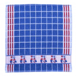 KITCHEN TOWEL KISSING COUPLE RED BLUE