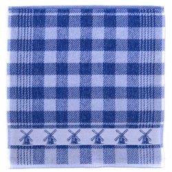 KITCHEN TOWEL BLUE MILL 49 x 50 CM