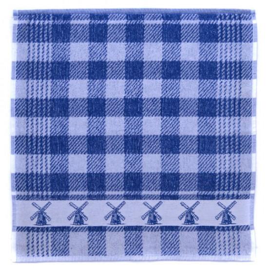 Küche handtuch mühle blau 49 x 50 cm