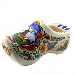 CLOG ASHTRAY POLYCHROME HOLLAND 15 CM