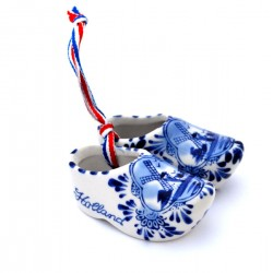 CLOGS DELFT BLUE WINDMILL HOLLAND 8 CM