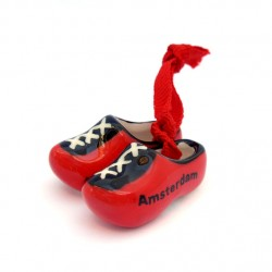 CLOGGIES AMSTERDAM RED CERAMICS 4 CM