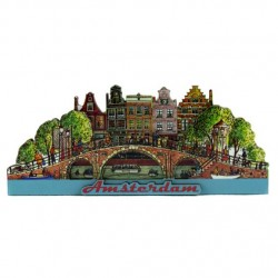 FRIDGE MAGNET AMSTERDAM BRIDGE 2D