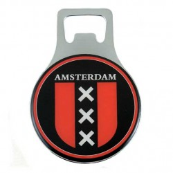 FRIDGE MAGNET BOTTLE OPENER AMSTERDAM