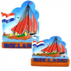 FRIDGE MAGNET HOLLAND BOTTER COLOR FLAG 2D POLYSTONE
