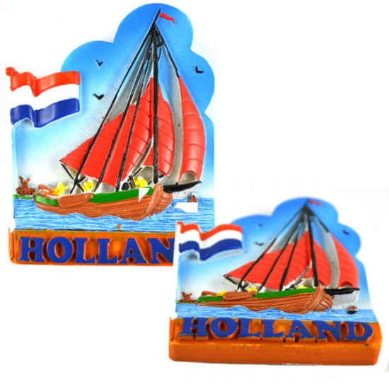 Magnete holland botter farbe flag 2d polystone