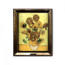 FRIDGE MAGNET VINCENT VAN GOGH SUNFLOWERS